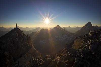 Great Divide Sunset