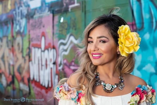 Marisol Flores - Graffiti Wall
