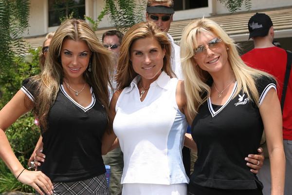 Monica Leigh, Me & Brandie Rodrik Playboy Golf SD 2006.jpg