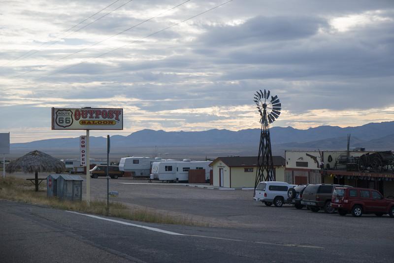Scenes Of Old Rt 66 In Arizona