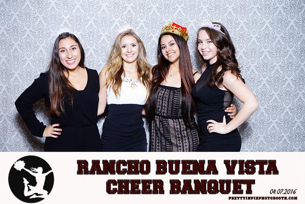 Rancho Buena Vista Cheer Banquet 4-7-2016