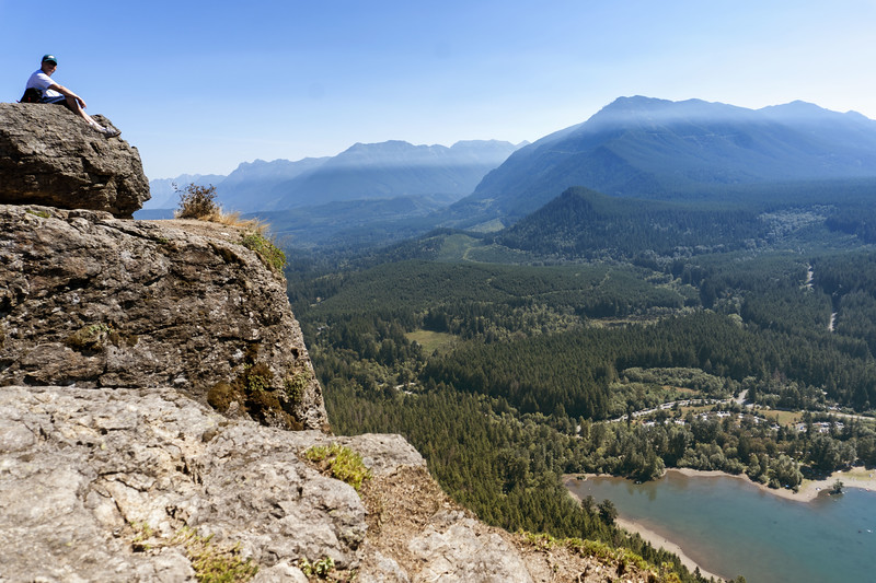 Rattlesnake Lake Hiking in Washington
