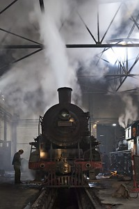 SY1676 inside the shed