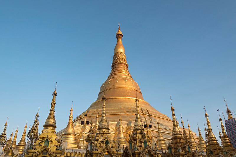 Shwedagon Pagoda, Yangon (Rangoon), Myanmar (Burma)