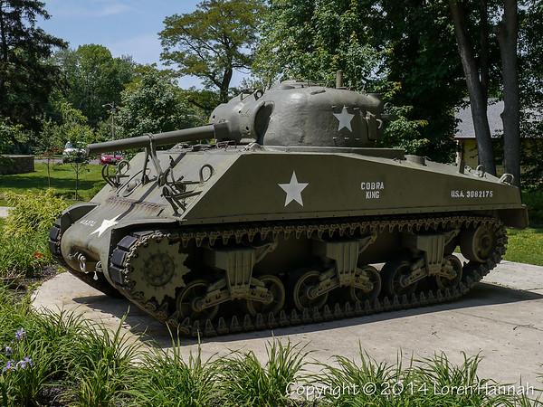 Veterans Memorial Park - Levittown, PA - M4A3(75)