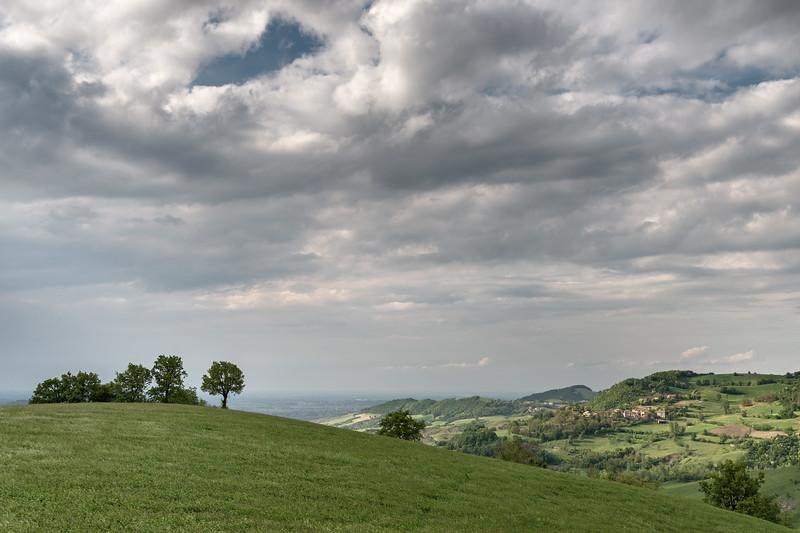 Appennino Reggiano - Canossa, Reggio Emilia, Italy - April 29, 2015