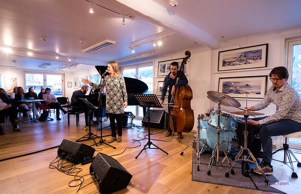 Ann-Iren Hansen Quartet in Nyksund Brygge 30. july 2016