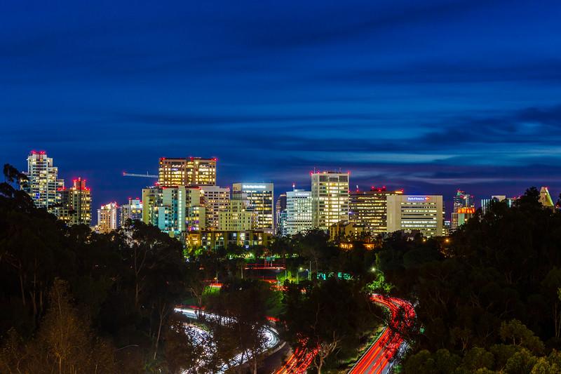 America's Finest City At Night