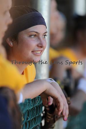 Corban Softball Alumni game 2014