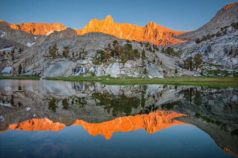 (2019 August 12-14) Lone Pine Peak & Candlelight Peak.  Inyo National Forest, California.