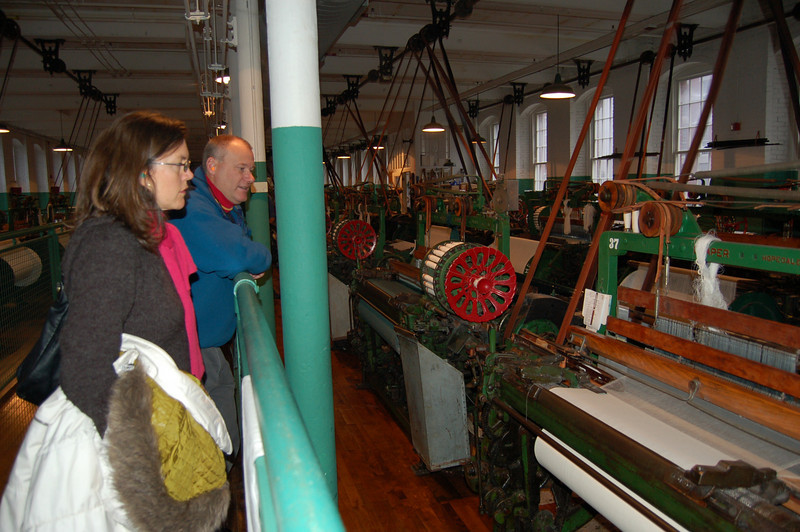 Checking out all the Draper looms