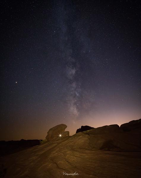 Milky Way, Valley Of Fire, Nevada.jpg