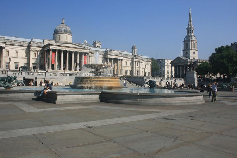 Trafalgar Square.