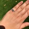 1.19ct Art Deco Carre Cut Diamond Solitaire 38