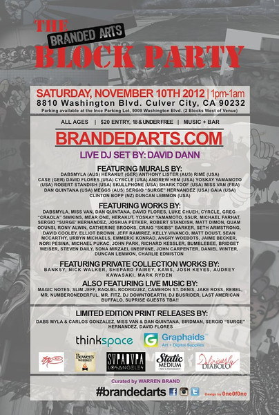 Branded Arts Gala
