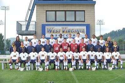 27751 WVU Men's Soccer Photo Day August 2011