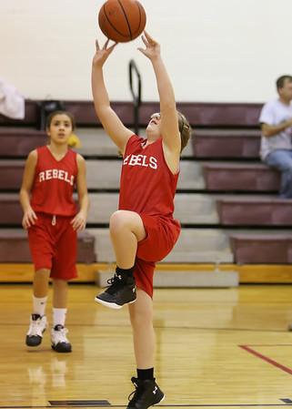 SNMS Girls Basketball 2015-2016