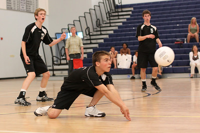 2011-05-05 Boy's Highschool Volleyball - PCS vs. SLV