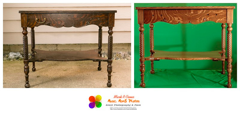 carved leg table
