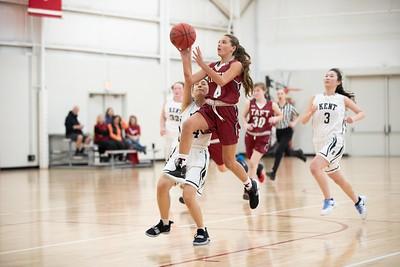 1/16/19: Girls' JV Basketball v Kent