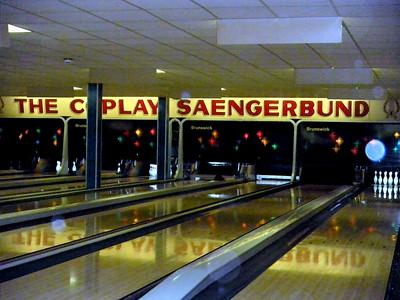 Saengerbund Bowling 03/07/09