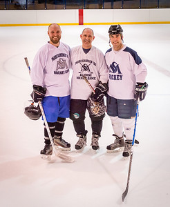 Alumni Hockey Game Winter 2014