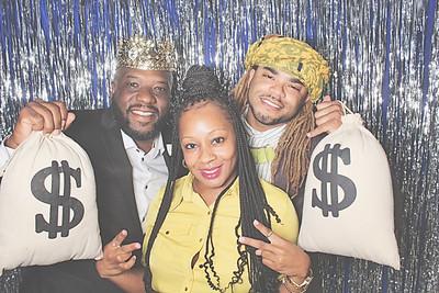 7-10-21 Atlanta Sugar Plum Events Photo Booth - Lance's 40th Birthday Celebration - Robot Booth