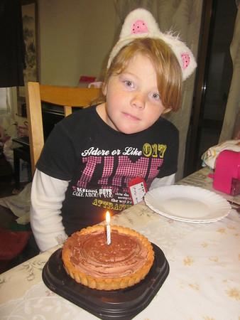 Kamilla's 7th  birthday (2013)