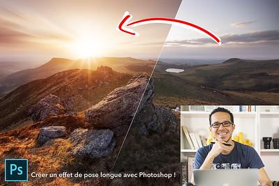 Créer un effet de pose longue avec Photoshop