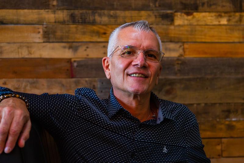 Restaurateur Vinny Cartiglia co-owner of the Hangry Kitchen, located at 2660, PGA Blvd., Palm Beach Gardens on Tuesday, November 19, 2019. [JOSEPH FORZANO/palmbeachpost.com]