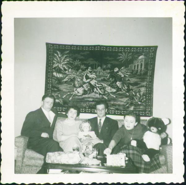 Nick Bazarni, Inge Schroeder, Helen's Brother, Helen Mazarenko