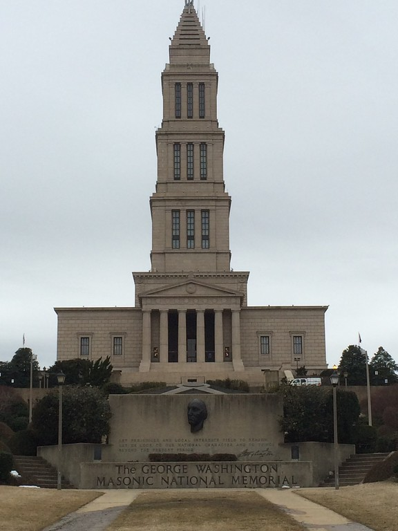 2014 DC George Washington Masonic Memorial in Alexandria, VA