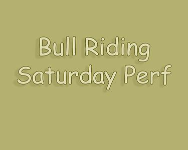 Bow Island 2018 Bull Riding Saturday