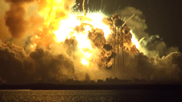 Frame Caps- Antares Launch Anomaly