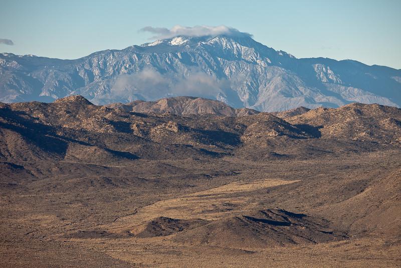 Blue Mountain  View On Black