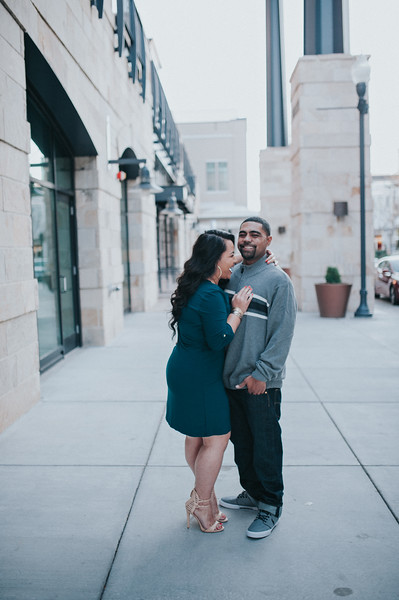 Ezra + Saranjy // Utah Engagement Photographer