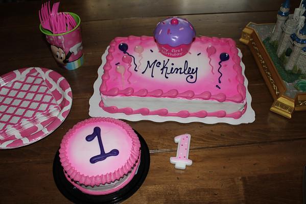 McKinley's 1st Birthday 2014