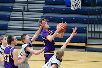 02-08-13 Maumee vs Napoleon Freshmen Boys Basketball
