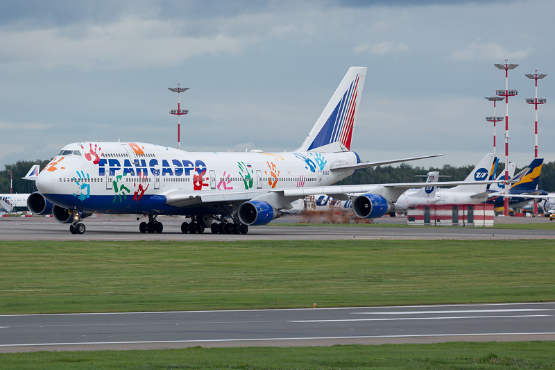 Transaero Airlines / Boeing 747-400 / EI-XLO