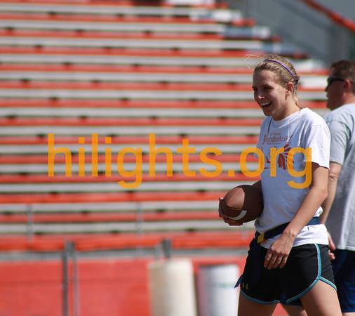 Flag Football Practice 4-1