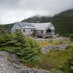 Lafayette's Greenleaf Hut, Mt. Lafayette, New Hampshire, USA