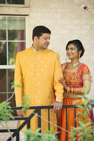 HARSHNA AND PARTH PITHI CEREMONY