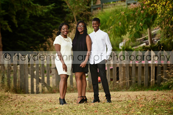 Toyin & Martins' Family Portrait