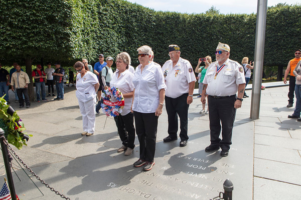 Army and Navy Union Wreath Laying, 2019