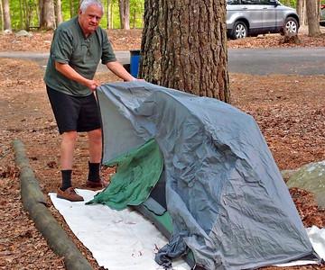 First Stelvio Camping with Debandi and Elder at Buck's Pocket
