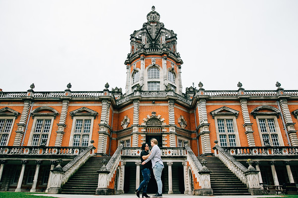 Alice and Krissie at Royal Holloway University