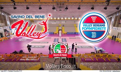 «Savino Del Bene Scandicci - Foppapedretti Bergamo» #CoppaItalia #A1Fvolley