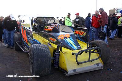 Super DIRT Week XLIII- Syracuse 200 Super DIRTcar Big Block Modified Series Race- Rebecca Eisele