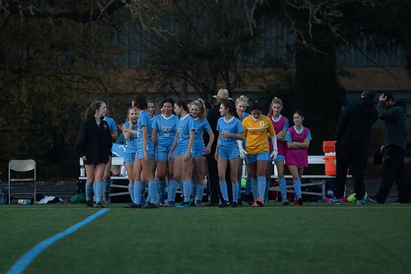 Girls Soccer v Lakeview
