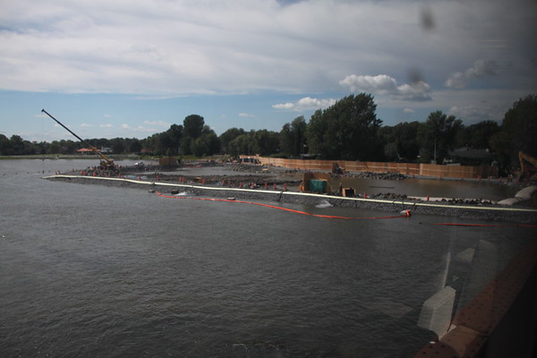 The dredging continues